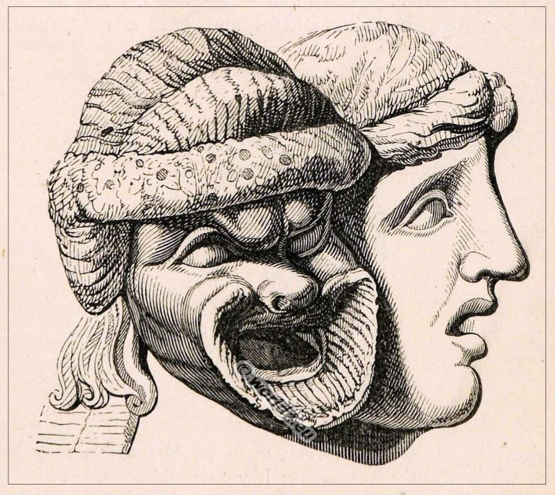 Roman-theater-Mask